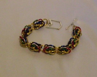 Chainmaille Bracelet Magic The Gathering accessory gaming jewelry