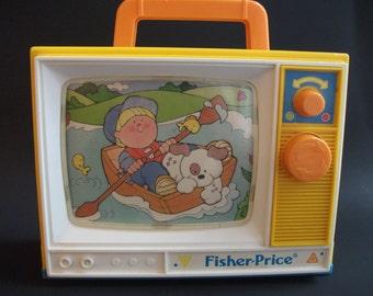 Fisher-Price Music Box TV #2204