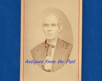 1880's CDV Carte de Visite Photo, Fosnot & Hunter Photographers Kecsauqua Iowa Stereoscopic Views and Frames for sale