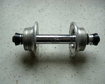 vintage campag nolo rear hub, gear on one side,fixed on other side