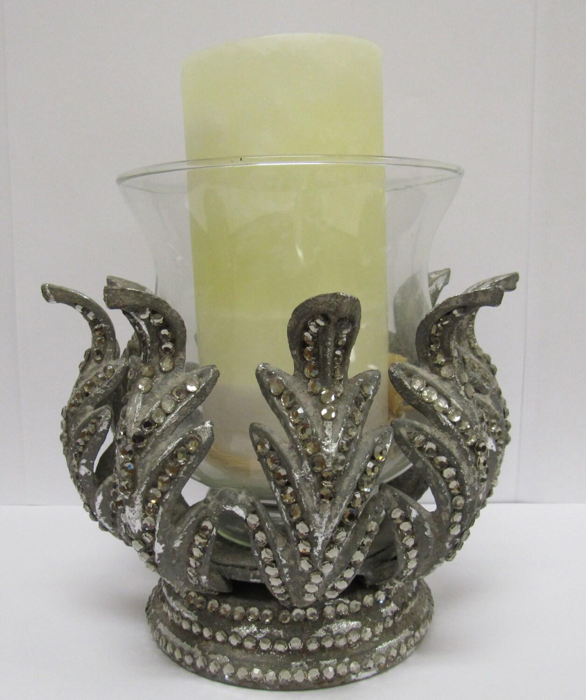 Vintage Victorian Metal Candle Holder By VintagesAttic On Etsy