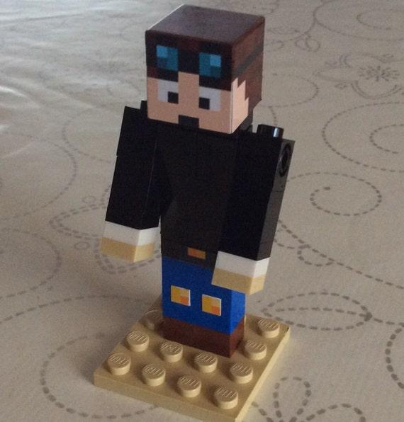 Xenomorph Dog Costume Lego Minecraft Custom ...