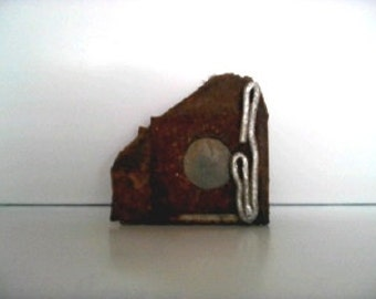 Small Decorative Object. Sculpture. 'Through a Looking Glass'