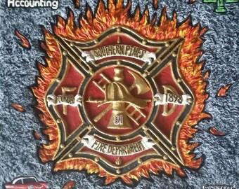 Fireman's Memorial Plaque