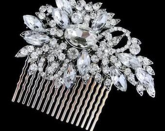 Claire; bridal comb, Bridemaids comb, bridal accessories, Art Deco, Bridemaids , decorative comb, hair accessories