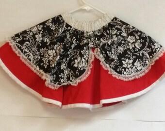 Girl's Full Circle Skirt