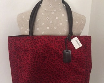 Never Used Red Neiman Marcus Tote Bag