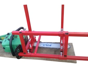 "Chainsaw mill - Chainsaw milling orizontal from 18""- 42"" chain bar"