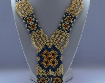 """The decoration on the neck """"Folk motifs"""""""