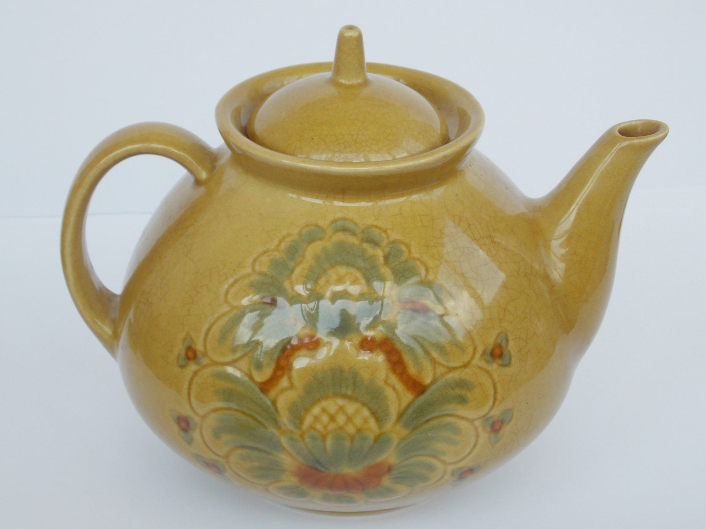Retro Vintage Soviet USSR Tea Pot Big Teapot 1980 S Retro