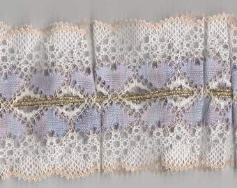 Tabitha - A Torchon Lace GarterPattern In Two Sizes, Bobbin Lace Pattern