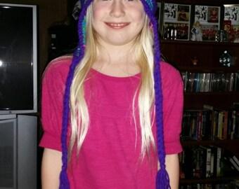 Braided Child Hat