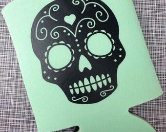 Sugar Skull Drink Can Cooler *more colors!*