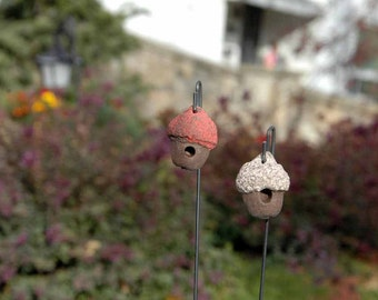 Fairy Acorn Birdhouse. Fairy Garden Accessory.