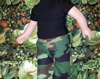 """18"""" Doll Camo outfit"""