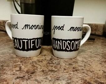 Good Morning Mugs-Set of 2
