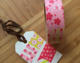 Washi Tape, Sakura, Heart, bow, Panda, Japanese tape, paper tape, colored tape, Scrapbooking, decorated, tape