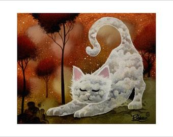 The yoga of cat