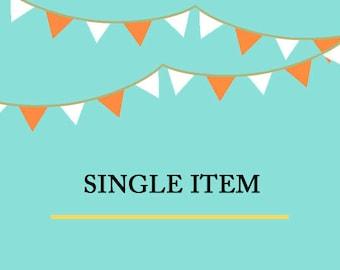 Single Item Purchase