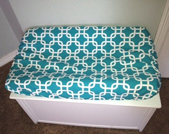 Turquoise Lattice Changing Pad Cover
