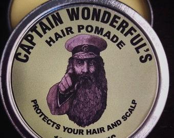 Captain Wonderfuls Hair Pomade- eucalyptus & mint