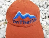 OnTheMtn Hat - Orange