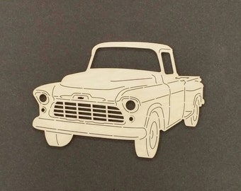 1956 CHEVY TRUCK Wall Art(Birch Wood)