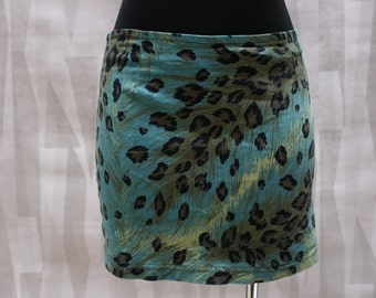 Animal Print Mini-skirt
