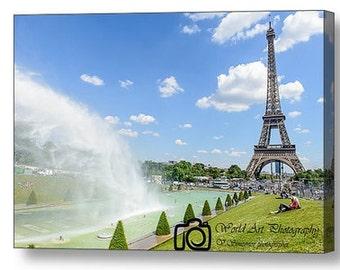 Eiffel tower Trocaderro, Paris photo, Paris canvas prints, Canvas art, Wall art, Wall decor, Home decor, wall art, Fine art, Paris photo