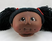 Vintage Cabbage Patch Style  Doll Head - Crafters, Dollmakers Find