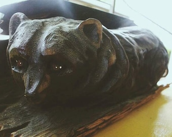 Bearrito Chainsaw Carving