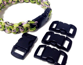 5 closings for Paracord rope