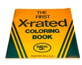 vintage 1977 first x rated coloring book - X Rated Coloring Books