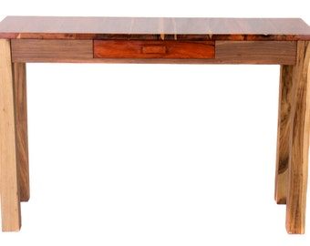 Cocobolo Console Table with Drawer