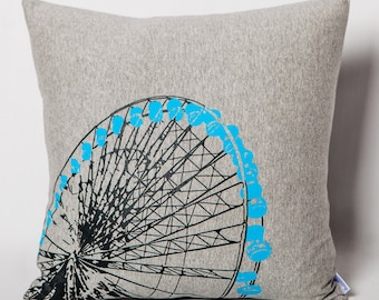 Grey jersey cushion Ferris wheel for children