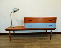 Popular items for dressing table on etsy for Meuble coiffeuse antique