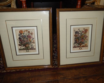 VINTAGE BOTANICAL WALL Hangings for March and April