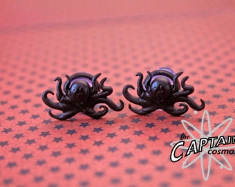 Octopus plugs stretched ears 8mm 0G stretched ears gauges bodmod