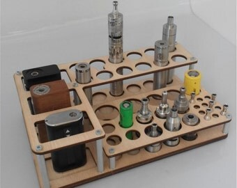 Vape stand mini Titan Wood(natural)