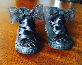 Black Custom Converse