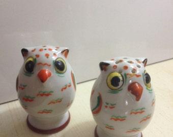 Owl salt b pepper shakers
