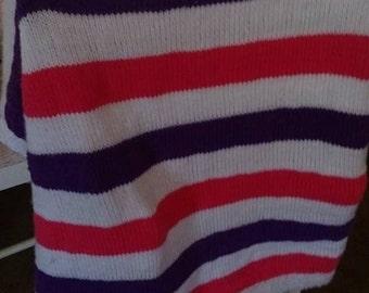 Seed Stockinette Baby Blanket