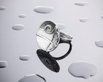 Silver ring for women UMAH206