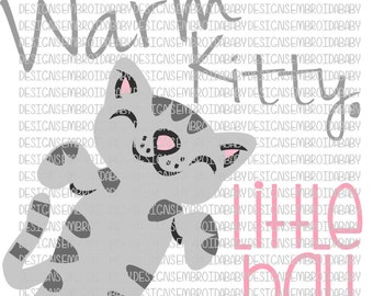Soft Kitty Warm Kitty Little Ball Of Fur SVG DFX EPS and png Files for Cutting Machines Cameo or Cricut