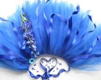 Girls Tutu Royal Blue