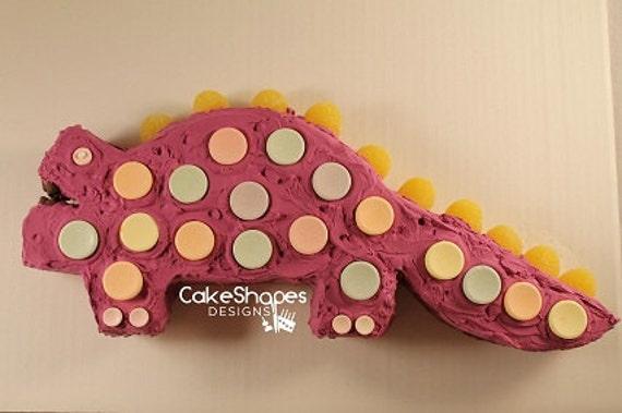Dinosaur Cut Up Cake Pattern