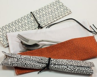 Cutlery case. Cutlery cover. Lunch bag. Snack bag. Utensil case