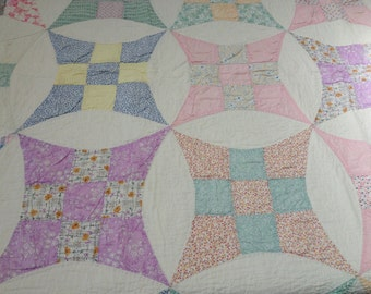 Hand-Made Vintage Quilt