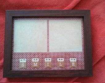 Handcrafted Decorative Photo Display