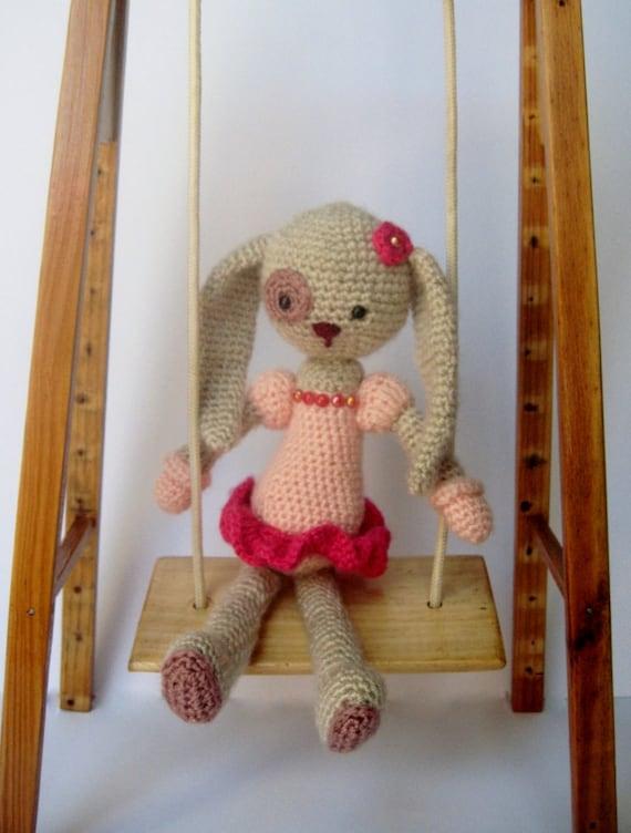Amigurumi Ballerina Doll : PATTERN Bunny Ballerina, Amigurumi Bunny, Crochet Doll ...
